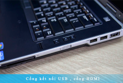 Laptop Dell Latitude E6430 | Intel Core i5-3320M | Ram: 4GB | Ổ cứng: HDD 320GB | Card:Intel HD Graphics 4000