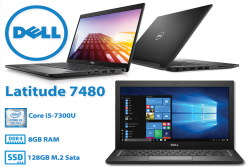 Dell Latitude E7480 Core i5 6300U - 8Gb- ssd 256gb - 14inch full HD